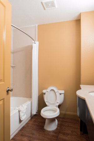 Americas Best Value Inn & Suites - Griffin: Guest Bathroom