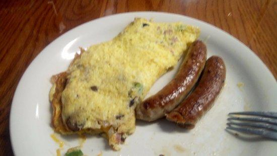 Eckerty, IN: My breakfast