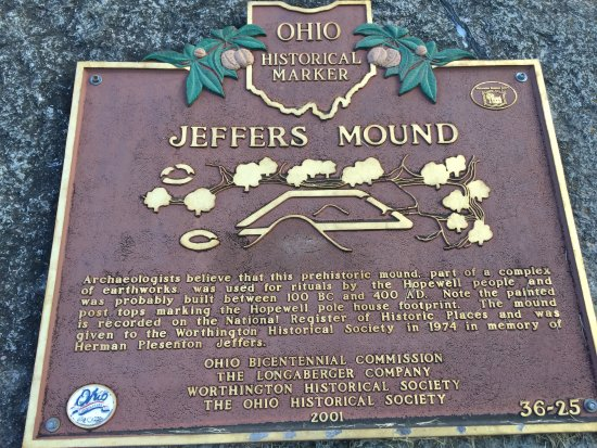 Worthington, OH: Jeffers Mound