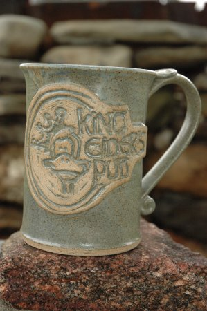 Damariscotta, ME: King Eider Logo mug