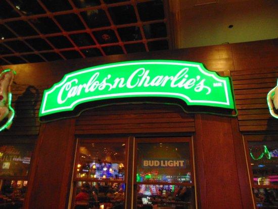 Carlos'n Charlie's Las Vegas: sign