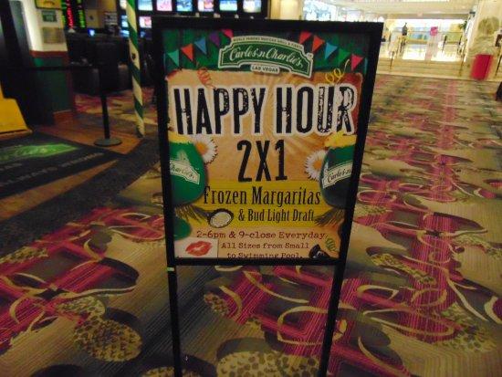 Carlos'n Charlie's Las Vegas: Happy Hour