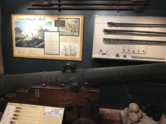 Mel Fisher Maritime Heritage Museum: Some of the things I found pretty interesting on our visit!