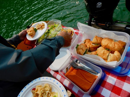 Lunch with Sea Wolf Adventures, Port McNeill, B.C. Canada