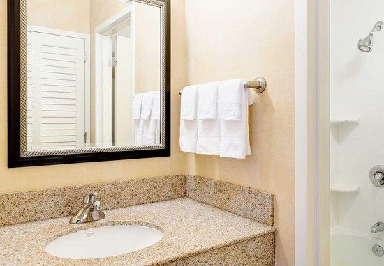 Cary, Северная Каролина: Guest Bathroom