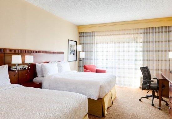 Cary, Северная Каролина: Queen/Queen Guest Room