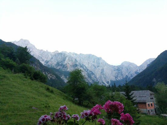 Solcava, Eslovenia: Views of/from property