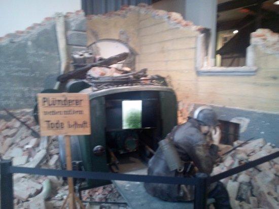 Kaufbeuren, Germany: WW II air shelter