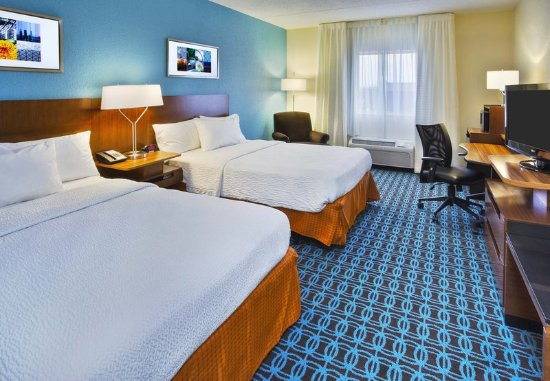 Owensboro, Кентукки: Double/Double Guest Room