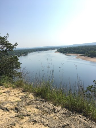 Sauk City, WI: Views from the top of Ferry Bluff