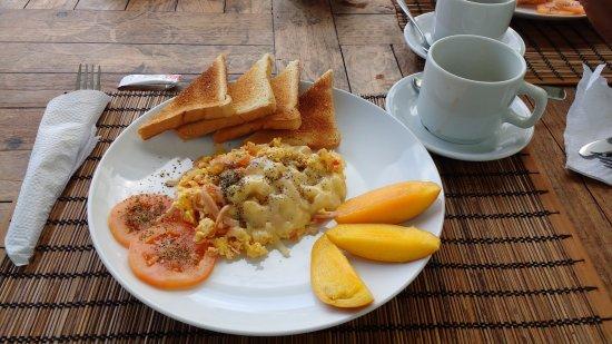 Playa Tranquilo: Café da manhã