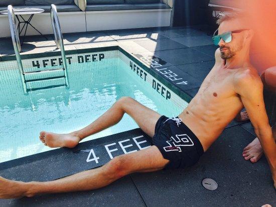 Hotel Americano: Playing Hookie!! Pool Day Thursday August 2017. Sun, Fun, Friends + Frozen Drinks!!! PRO TIP: Yo