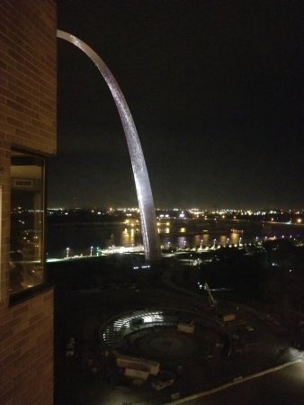 Hyatt Regency St. Louis at The Arch: View from hotel room!
