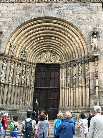 Bamberger Dom: Side Entrance