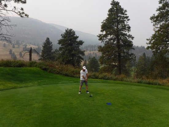 Oliver, Canada: Tee off