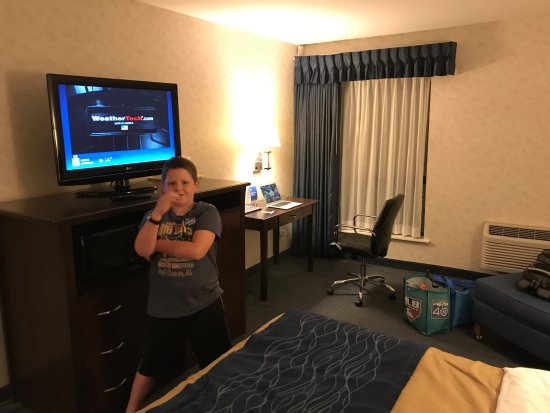 Comfort Inn Bellingham: Lots of room to spread out