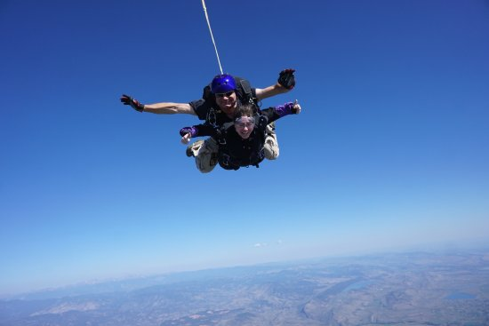 Mile-Hi-Skydiving : Mike was a great instructor!