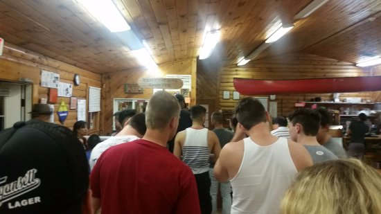 Kittatinny Campgrounds: Waiting to sign into campsite. Time 9:05pm