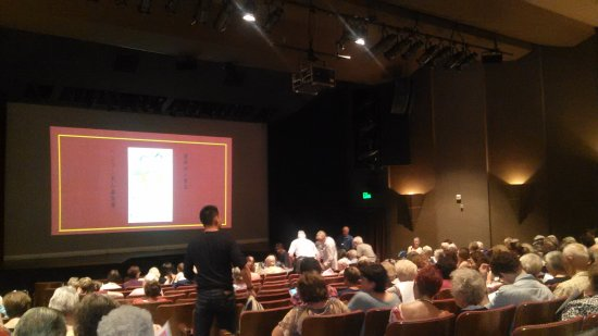 Palo Alto Players: view of Lucie Stern stage from the back