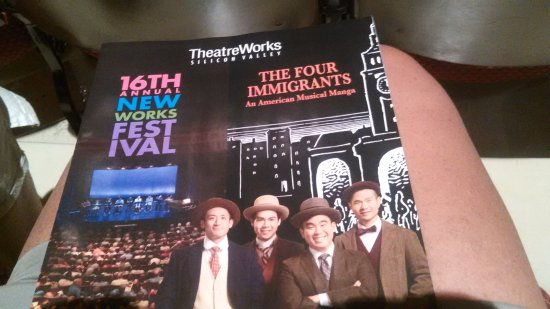 Palo Alto Players: theatre works: the four immigrants