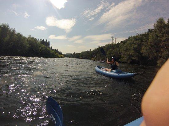 Ashland, OR: kayaking