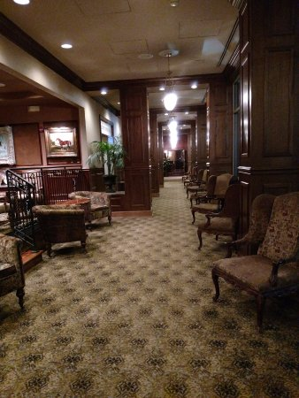 Johnson City, TN: Hall leading to social areas and restaurant