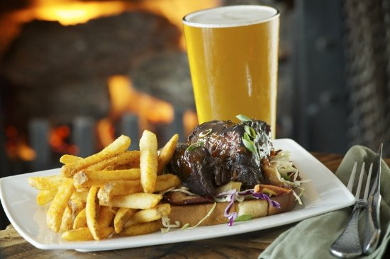 Skamania Lodge: Skamania Dining Beer and Fries