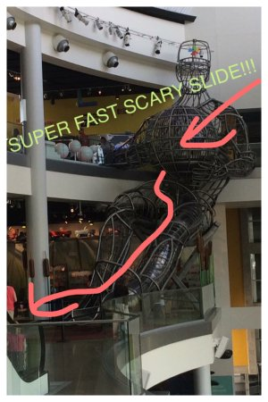 Union City, TN: scary fast slide!