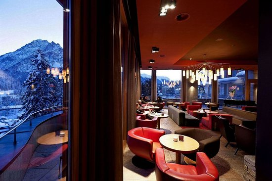Scuol, Suisse : Bar Lounge