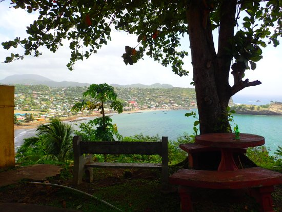 Nikki's Bar view of Dennery