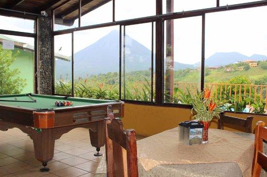 El Castillo, Costa Rica: Mesa de billar