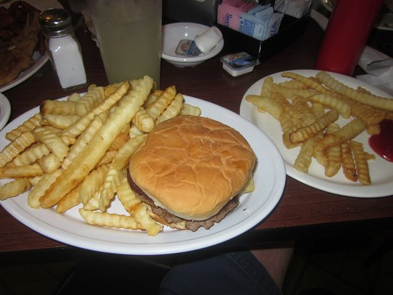 Newberry, SC: Double burger w/extra fries