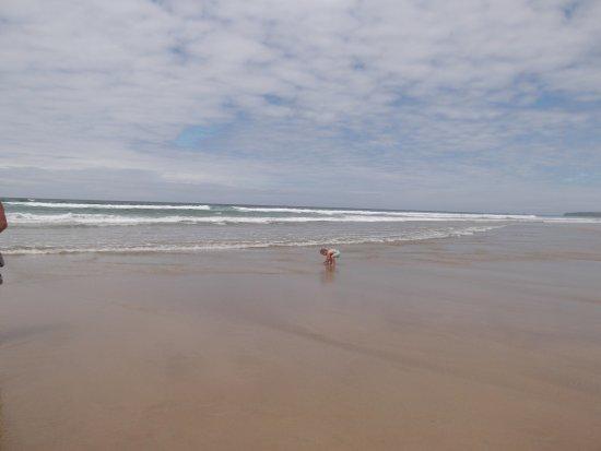 Newquay, UK: Vast sand