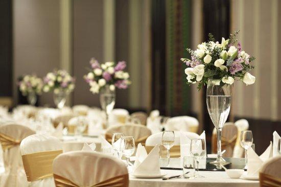 Dayi County, China: Grand Ballroom wedding set up