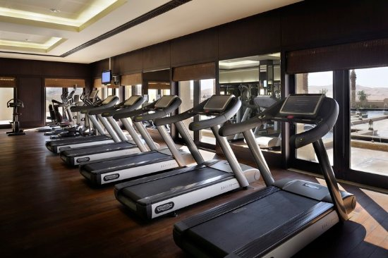 Hamim, United Arab Emirates: Workout Room