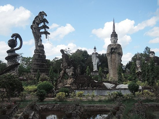 Nong Khai, Thailandia: สถานที่กว้างขวาง เลือกถ่ายรูปได้เยอะ