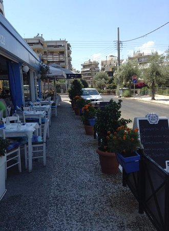 Alimos, Greece: Deniz meze