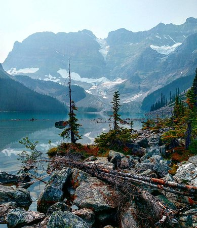 Waterfowl Lake Campground: IMG_20170816_184729_600_large.jpg