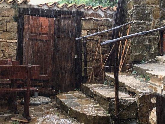 Restoran Loggia - COSLOVICH, Oprtalj (Опрталь), Croatia.