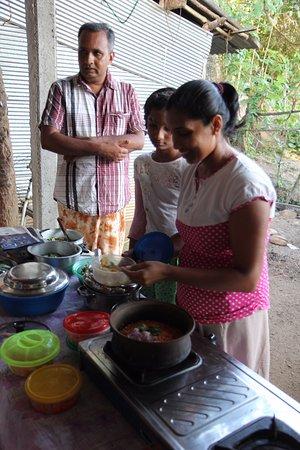 Matara, Sri Lanka: eating amazing local cuisine