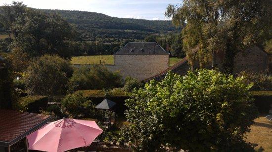 Barbirey-sur-Ouche, Francia: Vue de la chambre des parents
