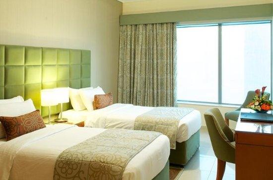 Al Salam Hotel Suites: Twinbeds 2Bedroom Apartment