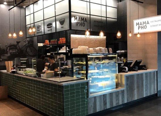 Manningham, Australia: We have tried to create a little vietnamese restaurant inside a food court