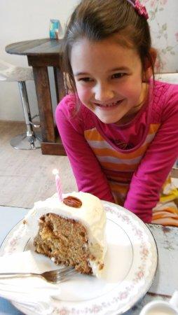 Bloubergstrand, África do Sul: Carrot cake