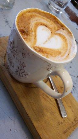 Bloubergstrand, África do Sul: Red cappuccino
