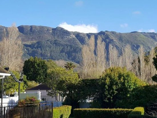 Constantia White Lodge: The view from our luxury room. Just breath taking!