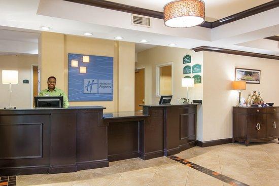 Anderson, SC: Hotel Check In Desk