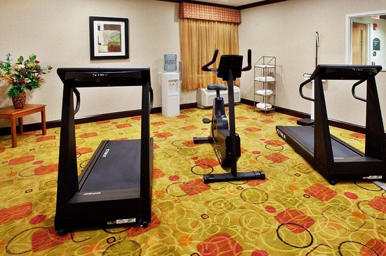 Holiday Inn Express & Suites Anderson exit 19B fitness center