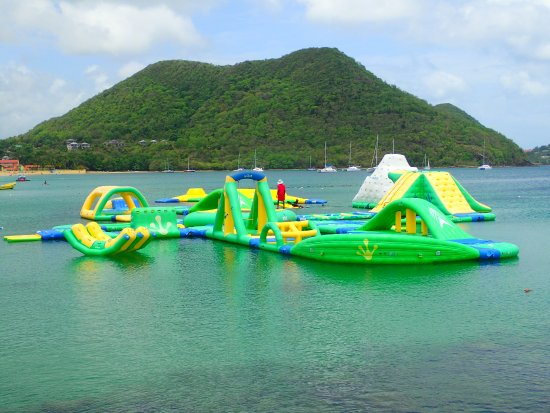 Gros Islet, St. Lucia: Splash Island Water Park St. Lucia
