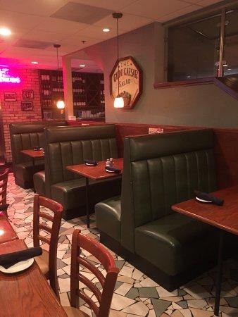 Nick S Italian Restaurants Sitzgelegenheit